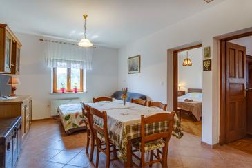 Punta križa, Dining room in the apartment, WIFI.