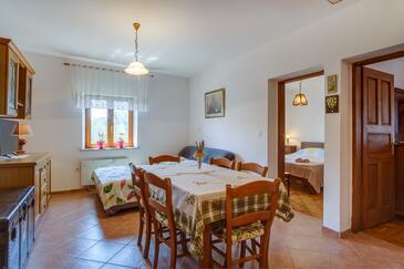 Punta križa, Jadalnia w zakwaterowaniu typu apartment, WiFi.