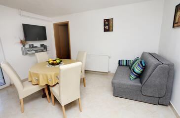 Trogir, Camera de zi în unitate de cazare tip apartment, WiFi.