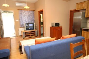 Stari Grad, Living room in the apartment, dostupna klima, dopusteni kucni ljubimci i WIFI.