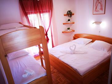 Ivan Dolac, Bedroom in the apartment, (pet friendly) and WiFi.