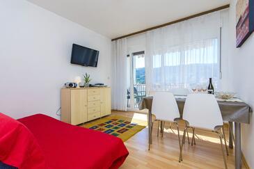 Stari Grad, Jídelna v ubytování typu apartment, domácí mazlíčci povoleni a WiFi.