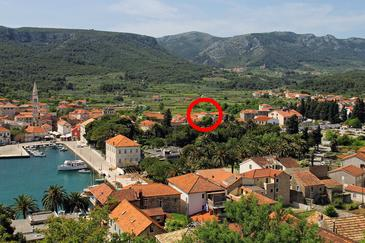 Jelsa, Hvar, Property 8713 - Apartments with pebble beach.