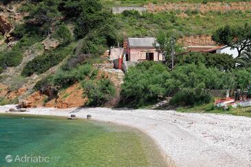 Stiniva (Brusje), Hvar, Property 8722 - Vacation Rentals near sea with pebble beach.