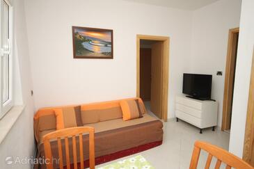 Stiniva (Brusje), Living room in the house.
