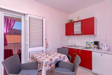 Stari Grad, Столовая в размещении типа studio-apartment, WiFi.