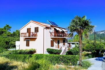 Vrisnik, Hvar, Property 8733 - Apartments with pebble beach.