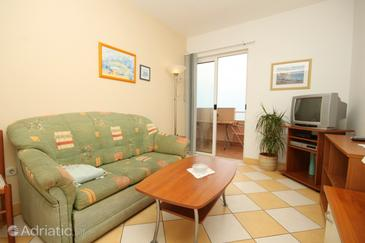 Ivan Dolac, Obývací pokoj v ubytování typu apartment, domácí mazlíčci povoleni a WiFi.