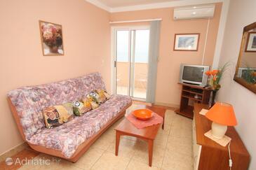 Ivan Dolac, Obývací pokoj v ubytování typu apartment, s klimatizací, domácí mazlíčci povoleni a WiFi.