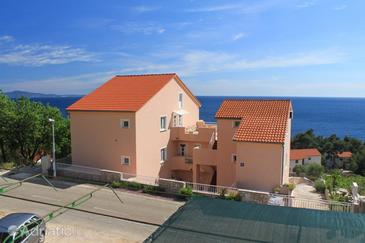 Ivan Dolac, Hvar, Property 8734 - Apartments and Rooms with pebble beach.