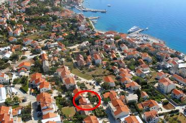 Bol, Brač, Property 8736 - Apartments with pebble beach.