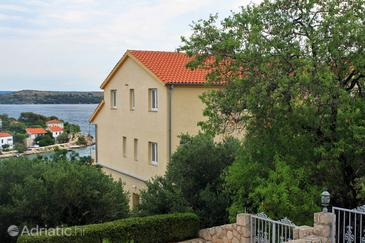 Sali, Dugi otok, Property 874 - Apartments near sea with pebble beach.
