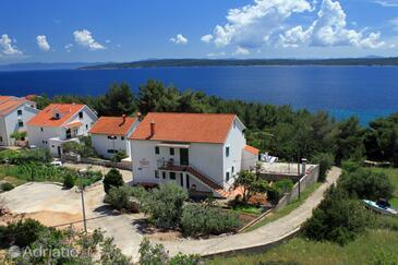 Zavala, Hvar, Property 8745 - Apartments near sea with pebble beach.