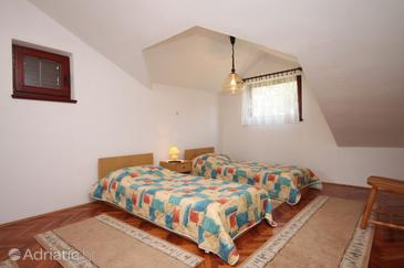 Vrboska, Living room in the apartment, dopusteni kucni ljubimci.