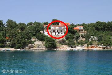 Basina, Hvar, Property 8749 - Apartments near sea with pebble beach.