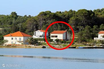 Veli Rat, Dugi otok, Property 875 - Vacation Rentals near sea with rocky beach.