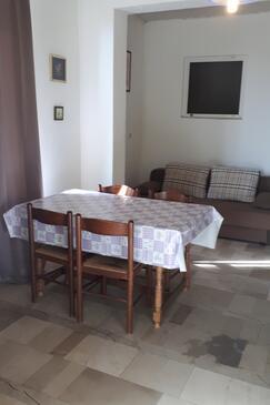 Ivan Dolac, Dining room in the apartment, dostupna klima, dopusteni kucni ljubimci i WIFI.