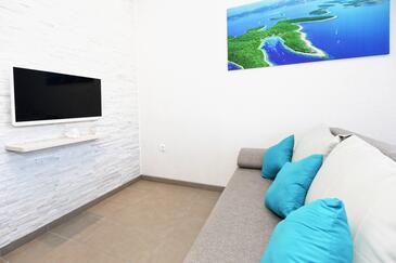 Zastupac, Obývací pokoj v ubytování typu apartment, WiFi.