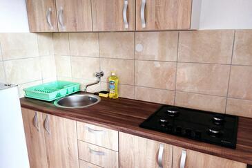 Rapak, Kuchyňa v ubytovacej jednotke apartment, dopusteni kucni ljubimci.