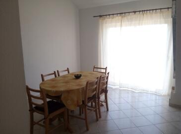 Rapak, Jedáleň v ubytovacej jednotke apartment, domáci miláčikovia povolení.