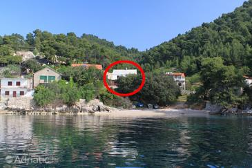 Uvala Rapak, Hvar, Property 8767 - Apartments near sea with pebble beach.