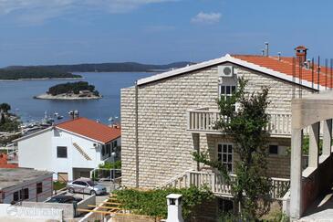 Hvar, Hvar, Property 8768 - Apartments with pebble beach.