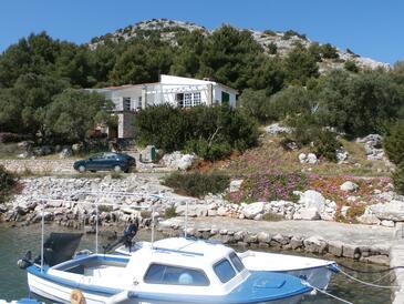 Telašćica - Uvala Pasjak, Dugi otok, Objekt 877 - Ubytování v blízkosti moře.
