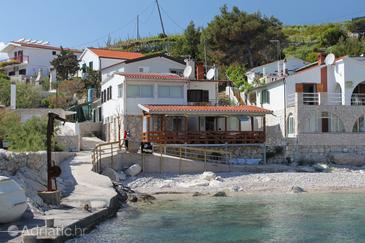 Zaraće (Dubovica), Hvar, Objekt 8778 - Ubytování v blízkosti moře s oblázkovou pláží.