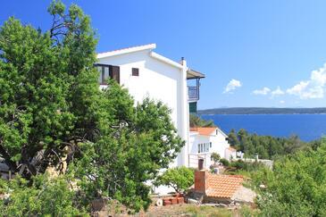 Zavala, Hvar, Objekt 8784 - Ubytování v blízkosti moře s oblázkovou pláží.