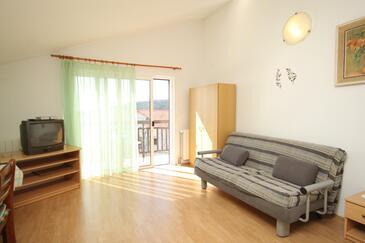 Hvar, Salon dans l'hébergement en type apartment, WiFi.