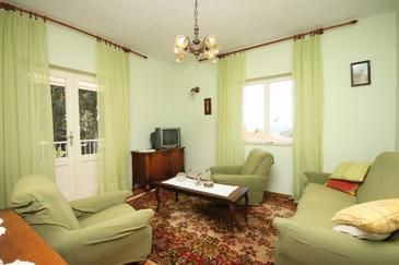 Hvar, Obývacia izba v ubytovacej jednotke house, WIFI.