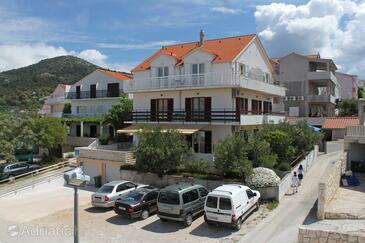 Hvar, Hvar, Property 8794 - Apartments with pebble beach.