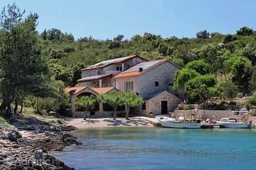 Karkavac - Šćedro, Hvar, Property 8801 - Apartments near sea with pebble beach.