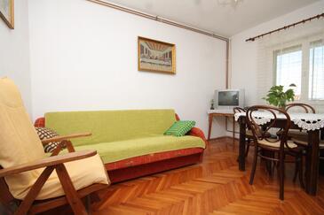 Zavala, Salle à manger dans l'hébergement en type apartment, animaux acceptés et WiFi.