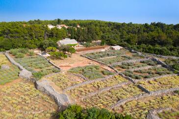 Humac, Hvar, Property 8805 - Vacation Rentals with pebble beach.