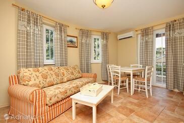 Rosohotnica, Dining room in the apartment, dostupna klima i dopusteni kucni ljubimci.