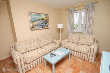 Rosohotnica, Living room in the apartment, dopusteni kucni ljubimci.
