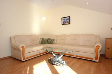 Cavtat, Obývací pokoj v ubytování typu apartment, WIFI.