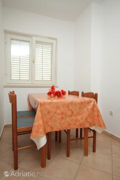 Mlini, Jídelna v ubytování typu apartment, WiFi.
