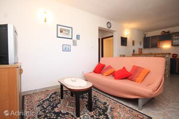 Rukavac, Гостиная в размещении типа apartment, Домашние животные допускаются и WiFi.