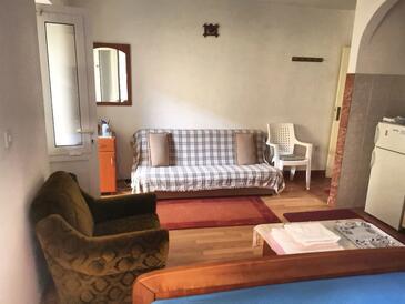 Vis, Obývací pokoj v ubytování typu studio-apartment, WiFi.