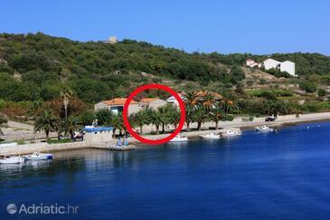 Vis, Vis, Objekt 8855 - Ubytování v blízkosti moře s oblázkovou pláží.
