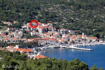 Vis, Vis, Property 8869 - Apartments with pebble beach.