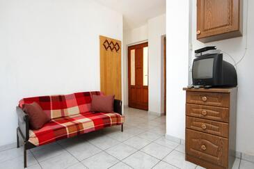 Žman, Pokój dzienny w zakwaterowaniu typu apartment, zwierzęta domowe są dozwolone.