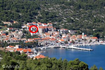 Vis, Vis, Property 8882 - Apartments with pebble beach.