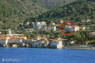 Vis, Vis, Property 8890 - Apartments with pebble beach.