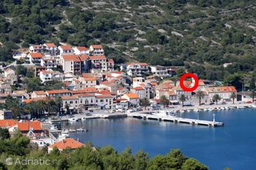 Vis, Vis, Property 8902 - Vacation Rentals near sea with pebble beach.