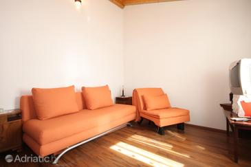 Podšpilje, Obývací pokoj v ubytování typu apartment, WiFi.