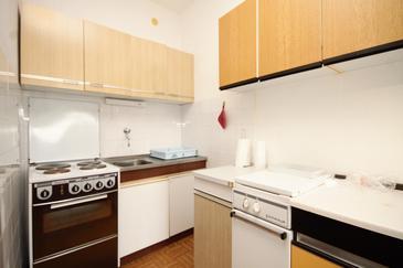 Brgujac, Kuchyně v ubytování typu apartment, dopusteni kucni ljubimci.
