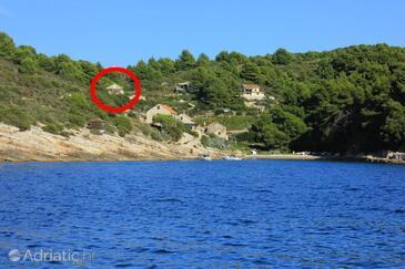 Biševo - Uvala Salbunara, Vis, Property 8934 - Apartments near sea with sandy beach.